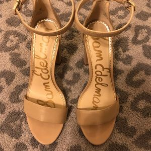 Sam Edelman Yaro Heels in Tan